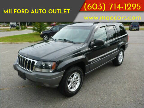 2003 Jeep Grand Cherokee for sale at Milford Auto Outlet in Milford NH