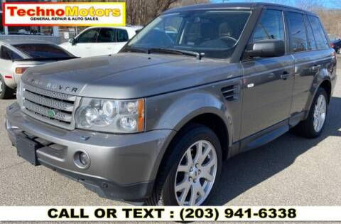2009 Land Rover Range Rover Sport for sale at Techno Motors in Danbury CT