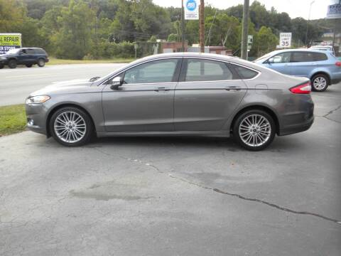 2014 Ford Fusion for sale at D & B Auto Sales & Service in Martinsville VA
