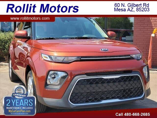 2020 Kia Soul for sale at Rollit Motors in Mesa AZ
