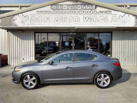 2013 Acura ILX for sale at Don Auto World in Houston TX