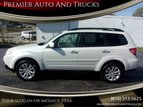 2011 Subaru Forester for sale at Premier Auto And Trucks in Independence MO