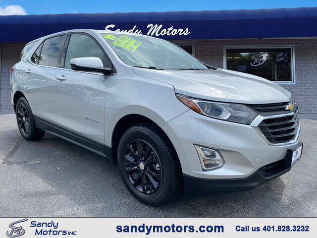 2019 Chevrolet Equinox for sale at Sandy Motors Inc in Coventry RI