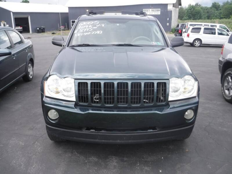 2005 Jeep Grand Cherokee for sale at Vicki Brouwer Autos Inc. in North Rose NY