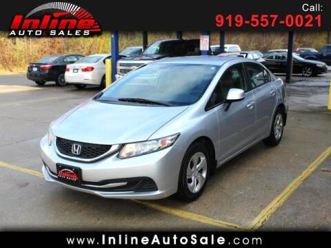 2013 Honda Civic for sale at Inline Auto Sales in Fuquay Varina NC