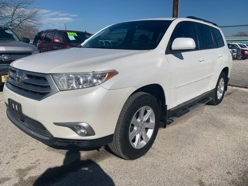 2013 Toyota Highlander for sale at Atrium Autoplex in San Antonio TX