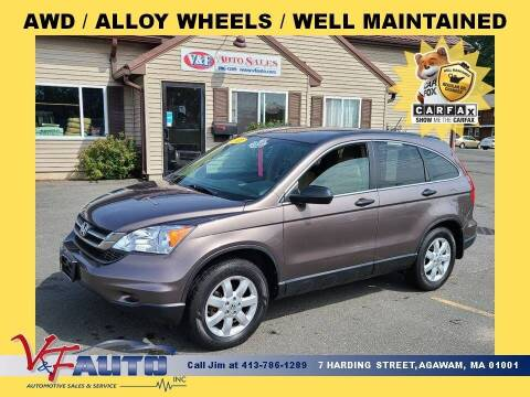 2011 Honda CR-V for sale at V & F Auto Sales in Agawam MA