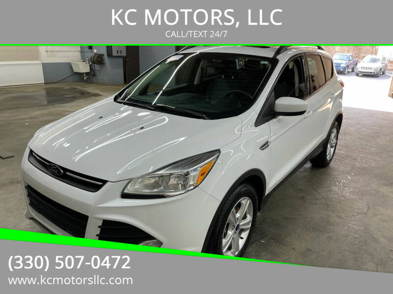 2015 Ford Escape for sale at KC MOTORS, LLC in Boardman OH