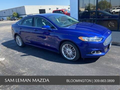 2016 Ford Fusion for sale at Sam Leman Mazda in Bloomington IL