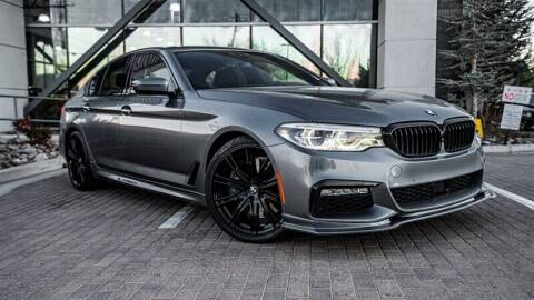 2017 BMW 5 Series for sale at MUSCLE MOTORS AUTO SALES INC in Reno NV