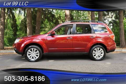 2012 Subaru Forester for sale at LOT 99 LLC in Milwaukie OR