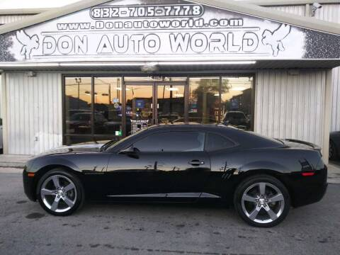 2012 Chevrolet Camaro for sale at Don Auto World in Houston TX