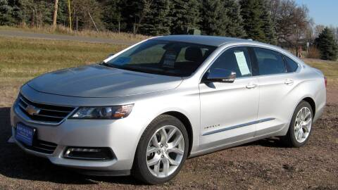 2018 Chevrolet Impala for sale at Rapp Motors in Marion SD