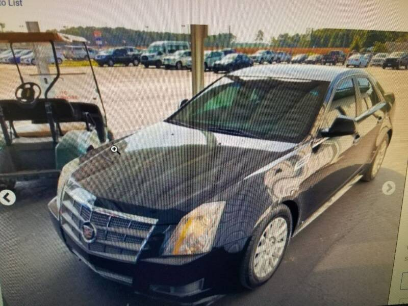 2010 Cadillac CTS for sale at Rocky Mount Motors in Battleboro NC
