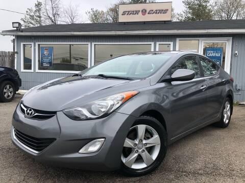 2012 Hyundai Elantra for sale at Star Cars LLC in Glen Burnie MD