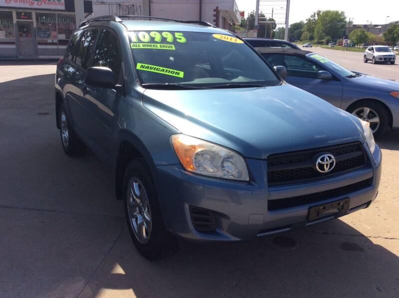 2011 Toyota RAV4 for sale at Harrison Family Motors in Topeka KS