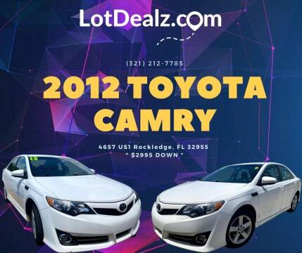 2012 Toyota Camry for sale at ROCKLEDGE in Rockledge FL