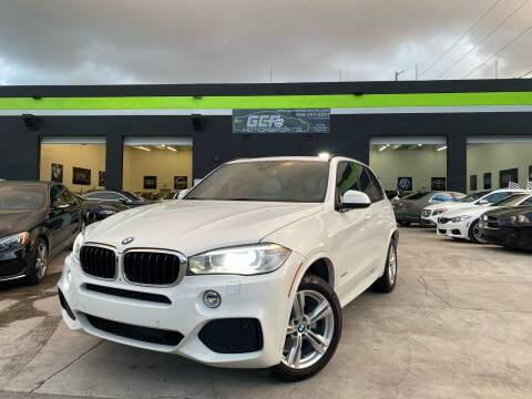 2015 BMW X5 for sale at GCR MOTORSPORTS in Hollywood FL