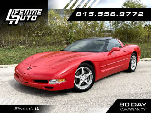 2004 Chevrolet Corvette for sale at Lifetime Auto in Elwood IL