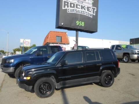2012 Jeep Patriot for sale at Rocket Car sales in Covina CA
