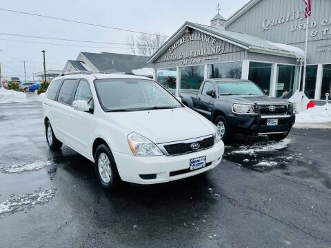 2012 Kia Sedona for sale at Empire Alliance Inc. in West Coxsackie NY