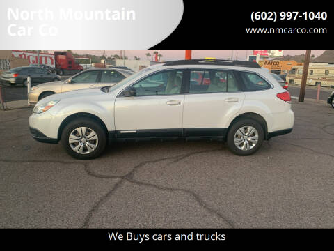2011 Subaru Outback for sale at North Mountain Car Co in Phoenix AZ
