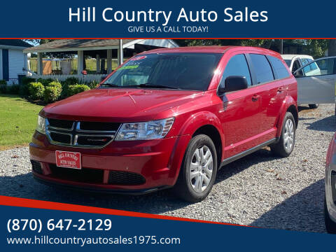 2014 Dodge Journey for sale at Hill Country Auto Sales in Maynard AR