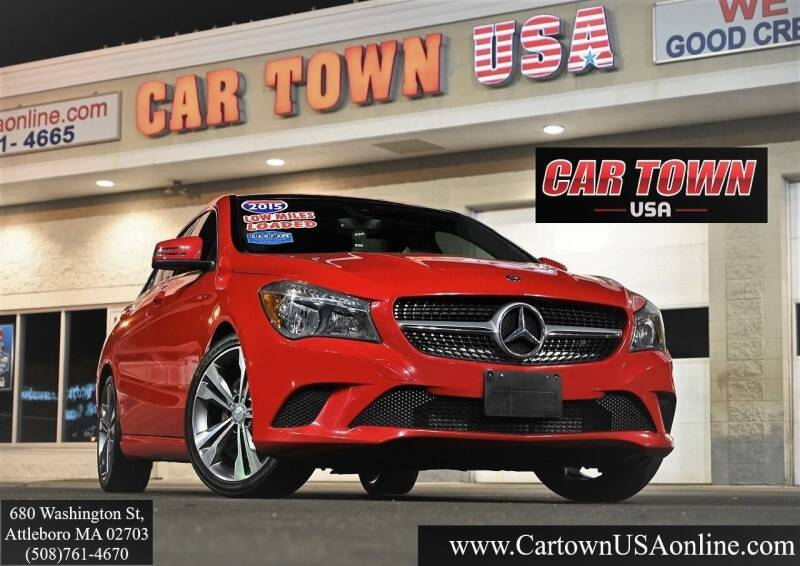 2015 Mercedes-Benz CLA for sale at Car Town USA in Attleboro MA