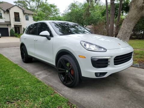 2016 Porsche Cayenne for sale at Frontline Select in Houston TX
