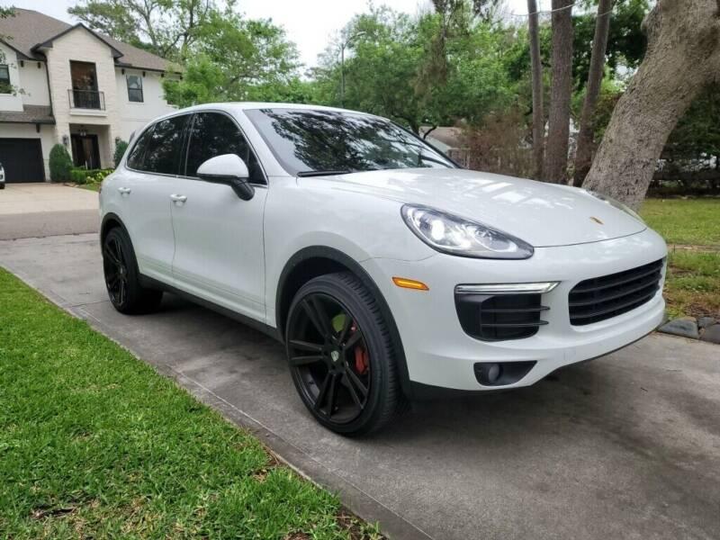 2016 Porsche Cayenne for sale in Houston, TX