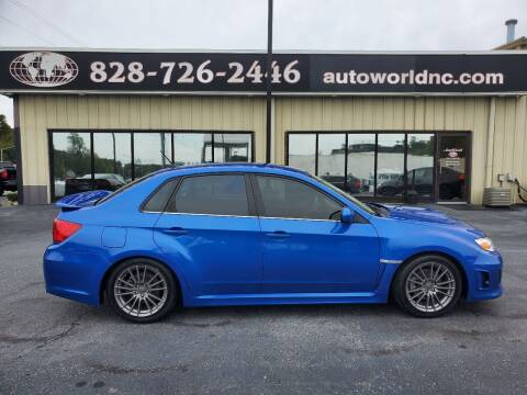 2014 Subaru Impreza for sale at AutoWorld of Lenoir in Lenoir NC
