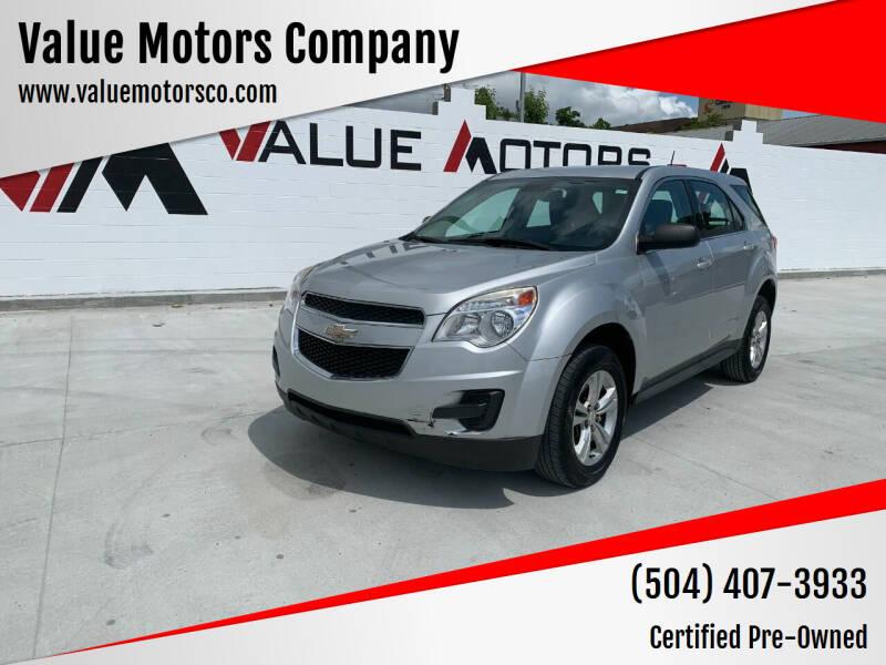 2015 Chevrolet Equinox for sale at Value Motors Company in Marrero LA