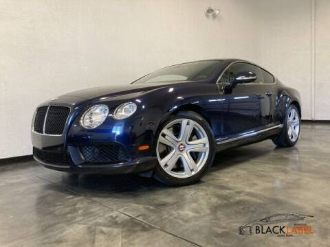 2013 Bentley Continental for sale at BLACK LABEL AUTO FIRM in Riverside CA