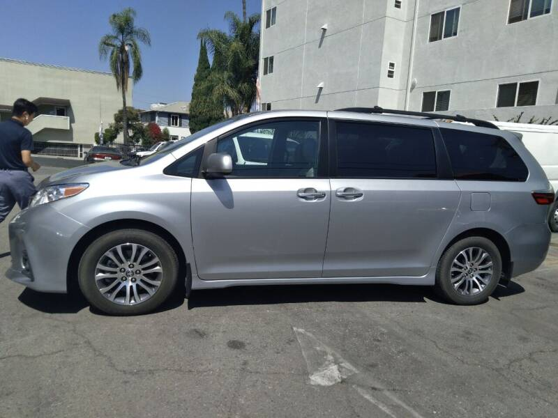 2020 Toyota Sienna for sale at Western Motors Inc in Los Angeles CA