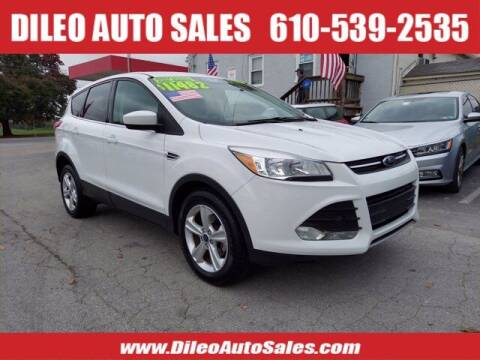 2016 Ford Escape for sale at Dileo Auto Sales in Norristown PA