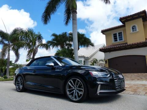 2018 Audi S5 for sale at Lifetime Automotive Group in Pompano Beach FL
