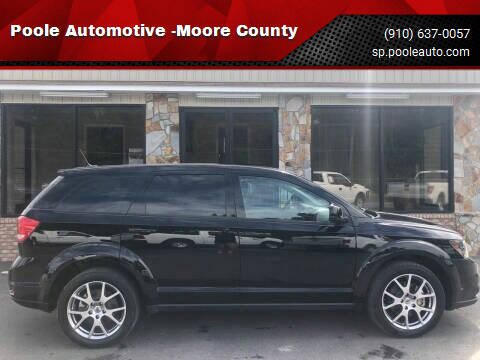 2018 Dodge Journey for sale at Poole Automotive -Moore County in Aberdeen NC