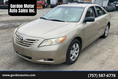 2007 Toyota Camry for sale at Gordon Motor Auto Sales Inc. in Norfolk VA