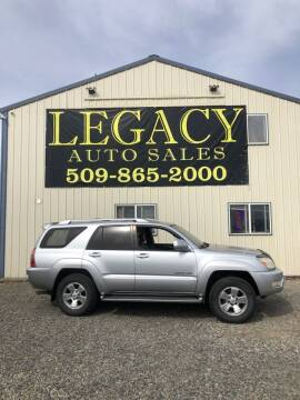 2003 Toyota 4Runner for sale at Legacy Auto Sales in Toppenish WA