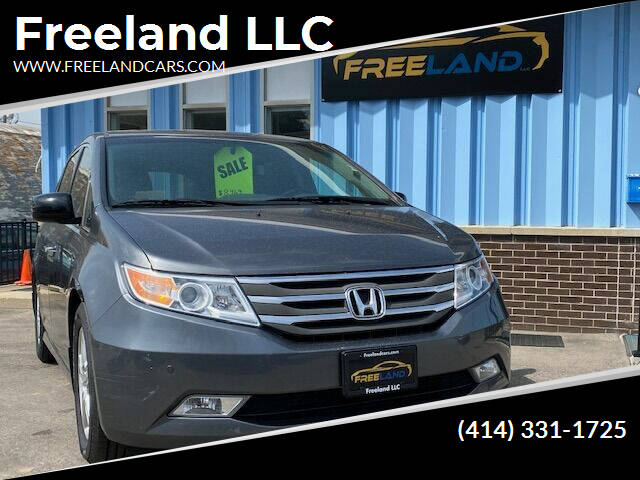 2012 Honda Odyssey for sale at Freeland LLC in Waukesha WI