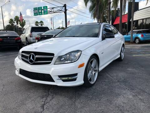 2014 Mercedes-Benz C-Class for sale at Gtr Motors in Fort Lauderdale FL