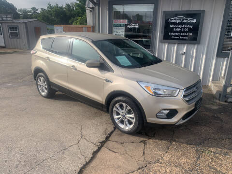 2017 Ford Escape for sale at Rutledge Auto Group in Palestine TX