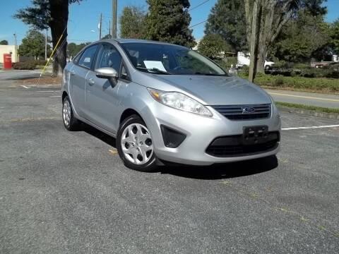2013 Ford Fiesta for sale at CORTEZ AUTO SALES INC in Marietta GA