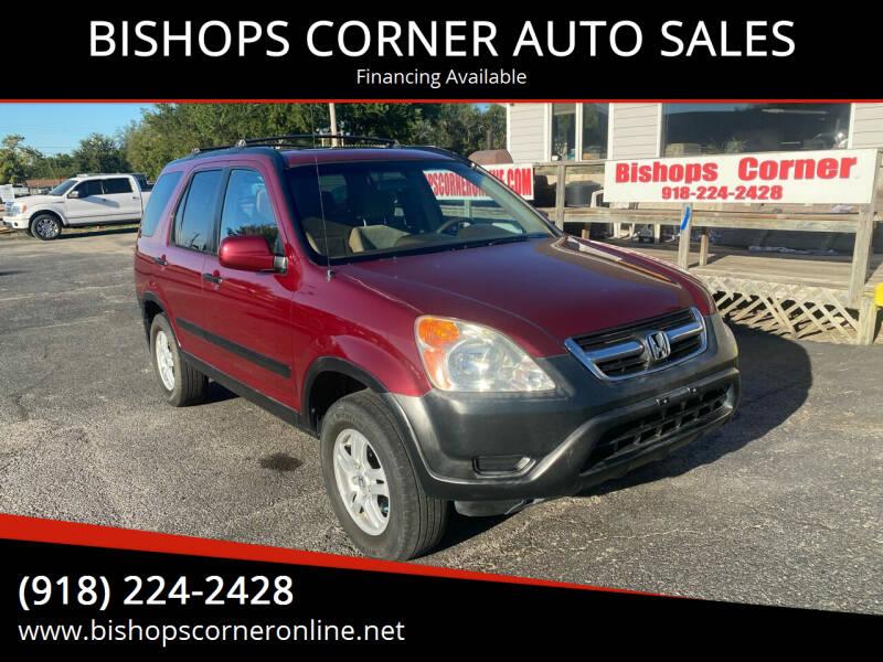 2003 Honda CR-V for sale at BISHOPS CORNER AUTO SALES in Sapulpa OK