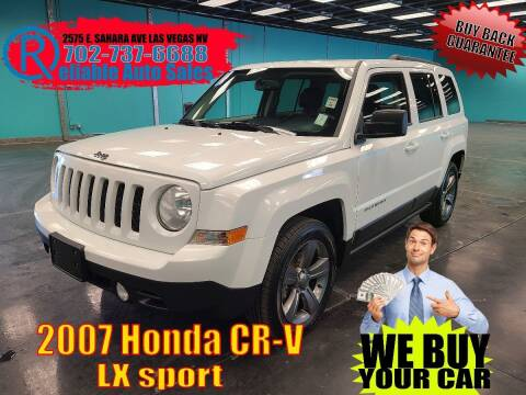 2014 Jeep Patriot for sale at Reliable Auto Sales in Las Vegas NV