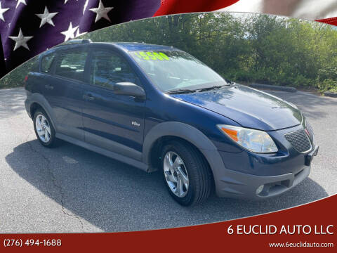 2007 Pontiac Vibe for sale at 6 Euclid Auto LLC in Bristol VA