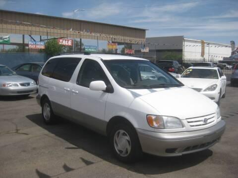 2002 Toyota Sienna for sale at Town and Country Motors - 1702 East Van Buren Street in Phoenix AZ