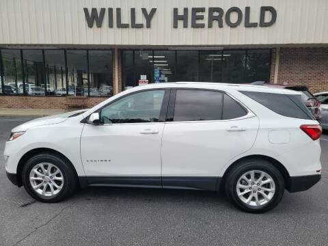 2018 Chevrolet Equinox for sale at Willy Herold Automotive in Columbus GA