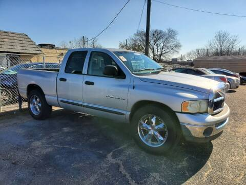 2003 Dodge Ram Pickup 1500 for sale at Dependable Auto Sales in Montgomery AL
