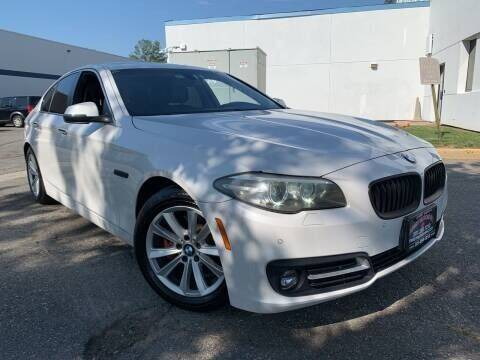 2016 BMW 5 Series for sale at JerseyMotorsInc.com in Teterboro NJ